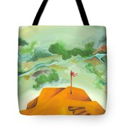 A Clearer View Tote Bag