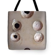 A Clogged Up 5 Point Electric Plug Point Tote Bag