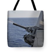 A Close-in Weapons System Aboard Tote Bag