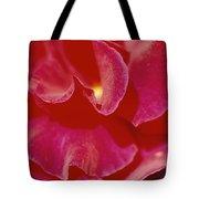 A Close View Of A Rose Tote Bag