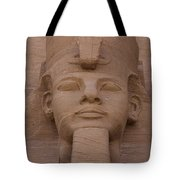 A Close View Of The Face Of Ramses IIs Tote Bag