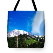 A Cloud Near Mt Rainer  Tote Bag