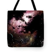 A Cluster Of Bright Young Stars Tear Tote Bag