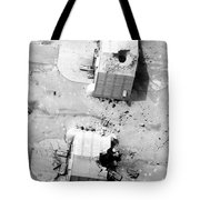 A Coalition Bombing Of Aircraft Hangers Tote Bag