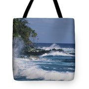 A Coastal View Of The Southeast Corner Tote Bag