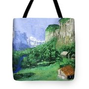 A Cold Clear Day Tote Bag