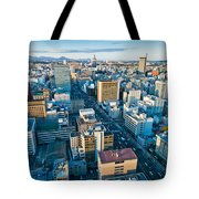 A Cold Day In Sendai Japan Tote Bag