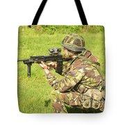 A Coldstream Guard Training In Scotland Tote Bag