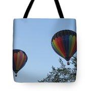 A Colorful Couple. Oshkosh 2012. Tote Bag