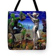 A Conceptual Idea Showing Nature Tote Bag