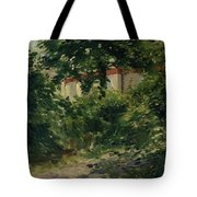 A Corner Of The Garden In Rueil Tote Bag