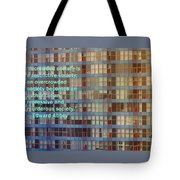 A Crowded Society Tote Bag