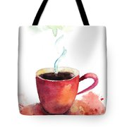A Cup Of Coffee Tote Bag