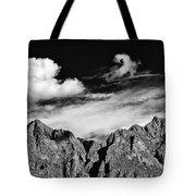 A Curl In The Sky Tote Bag