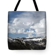 A Curved View Tote Bag