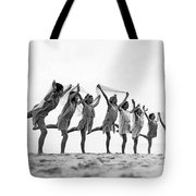 A Dance To The Morning Sun Tote Bag