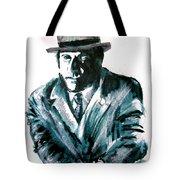 A Dapper Brit-portrait Of Ron Moody Tote Bag