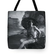 A Day At The Beach 1911 Tote Bag