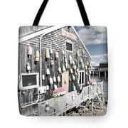 A Day In Bar Harbor Tote Bag