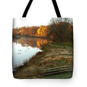 A Day In Time Tote Bag