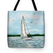 A Day In Virginia Tote Bag