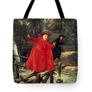 A Delicate Balance Tote Bag by Francois Brunery