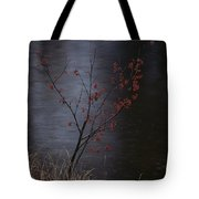 A Delicate Young Tree Blossoms Tote Bag