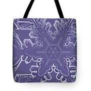 A Dendritic Snowflake Tote Bag