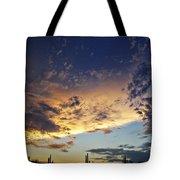 A Desert Horizon  Tote Bag