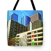 A Different Perspective On Downtown Los Angeles I Tote Bag