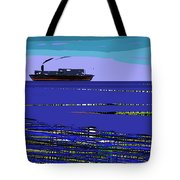 A Distant Ship Tote Bag