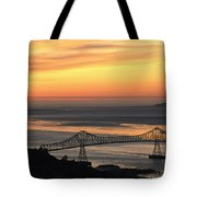A Distant View Tote Bag