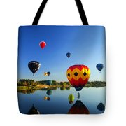 A Dozen  Reflected Tote Bag by Mike  Dawson