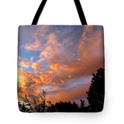 A Dramatic Summer Evening 2 Tote Bag