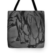 A Draw With An Elephant Tote Bag