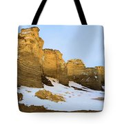 A Dusting On Monument Rocks Tote Bag