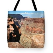 A Face In The Rock Tote Bag