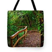 A Fall Walk Tote Bag