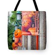 A Fall Welcome Tote Bag