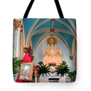 A Farewell To Pope John Paul II Tote Bag by Kristin Elmquist