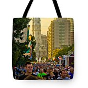 A Few People Showed Up Tote Bag