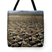 A Field Of Military Planes Tote Bag