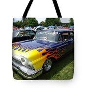 A Flaming Ride Tote Bag