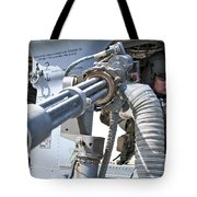 A Flight Engineer Prepares Tote Bag