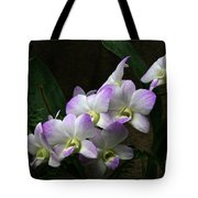 A Flight Of Orchids Tote Bag
