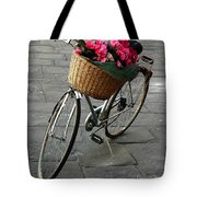 A Flower Delivery Tote Bag