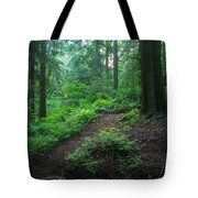 A Forest Green Tote Bag