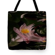A Fractual Lily Tote Bag