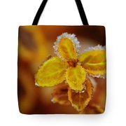 A Frosted Plant Tote Bag