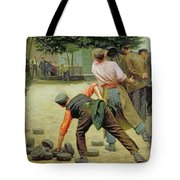A Game Of Bourles In Flanders Tote Bag
